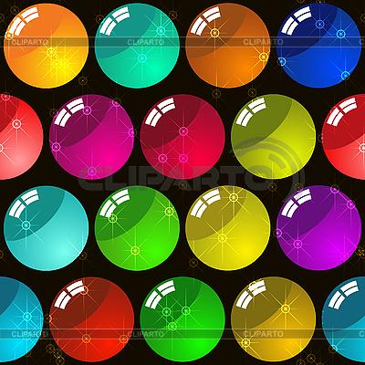 Hintergrund mit Glas-Bälle | Stock Vektorgrafik |ID 3013121