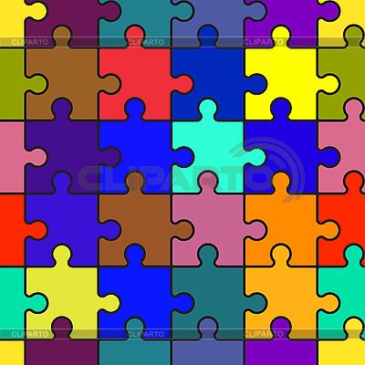 Hintergrund mit Puzzle | Stock Vektorgrafik |ID 3013183