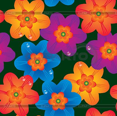 Blumen-Hintergrund. | Stock Vektorgrafik |ID 3013534