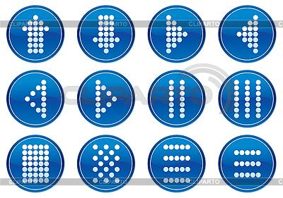 Matrix-Symbole Icons | Stock Vektorgrafik |ID 3013618