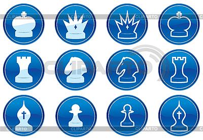 Schach-Icons | Stock Vektorgrafik |ID 3013646