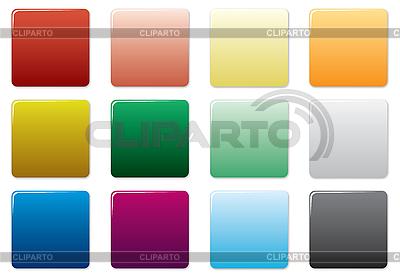 Farbige Tasten. | Stock Vektorgrafik |ID 3013666
