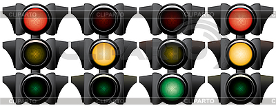 Traffic-light. | Klipart wektorowy |ID 3013712