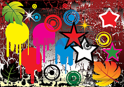 Grunge-Hintergrund.   Stock Vektorgrafik  ID 3013767
