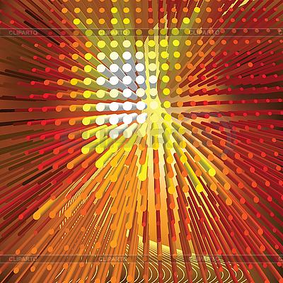 Abstrakter orangefarbener Huntergrund mit Punkte | Stock Vektorgrafik |ID 3013963