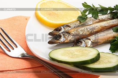 Geräucherte Fische | Foto mit hoher Auflösung |ID 3032815