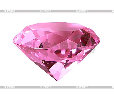 Pink crystal diamond | Foto stockowe wysokiej rozdzielczości |ID 3032816
