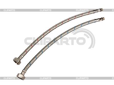 Metalowe rury do wody | Foto stockowe wysokiej rozdzielczości |ID 3032841