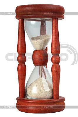 Staromodny piasku klepsydra | Foto stockowe wysokiej rozdzielczości |ID 3032889