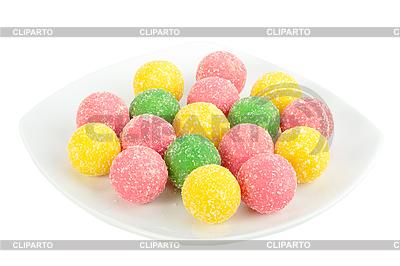 Открытка в виде сладостей