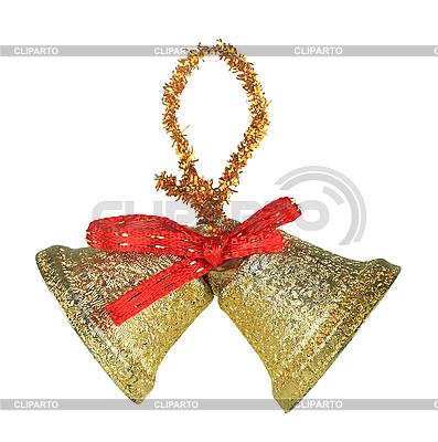 Dwa dzwonki świąteczne | Foto stockowe wysokiej rozdzielczości |ID 3033013