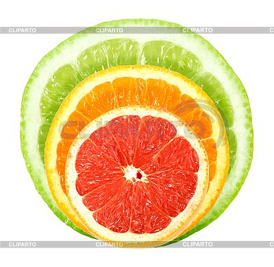 Plastry owoców cytrusowych | Foto stockowe wysokiej rozdzielczości |ID 3033052