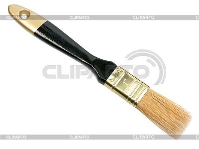 Bürste mit schwarzem Holzgriff | Foto mit hoher Auflösung |ID 3033325