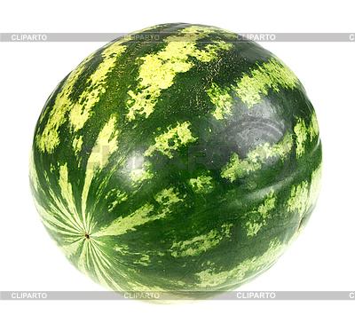 Gestreifte grüne Wassermelone | Foto mit hoher Auflösung |ID 3036761