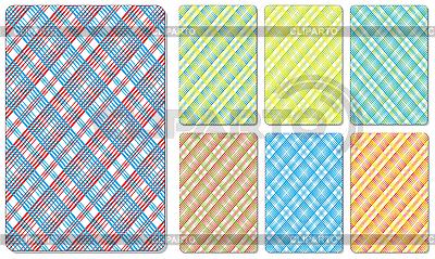 Рубашки игральных карт | Векторный клипарт |ID 3065104
