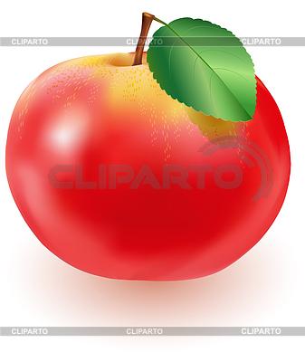 клипарт яблоко: