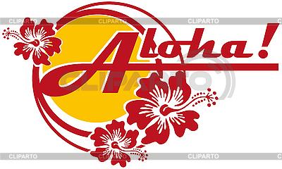 Aloha! | Klipart wektorowy |ID 3014523