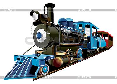 Dampflokomotive Express | Stock Vektorgrafik |ID 3014527