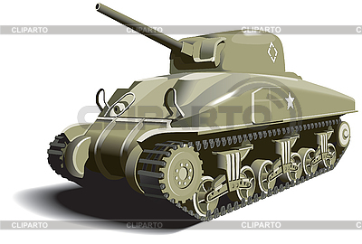 Amerikanischer Panzer | Stock Vektorgrafik |ID 3014746