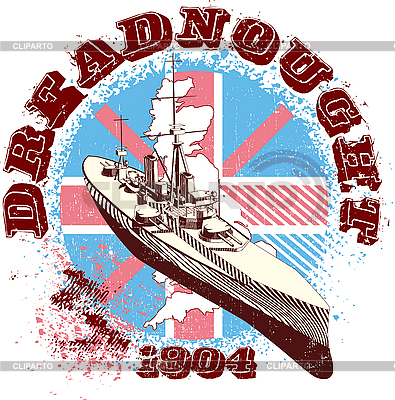 Dreadnought 1904 | Stock Vektorgrafik |ID 3014794