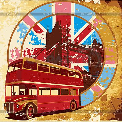 English stylu grunge | Klipart wektorowy |ID 3014800