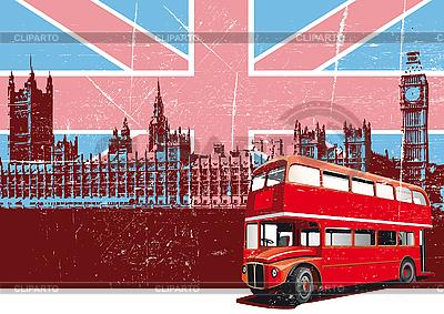English Style Poster | Klipart wektorowy |ID 3014804