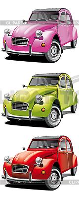 Alte kleine Autos | Stock Vektorgrafik |ID 3014948