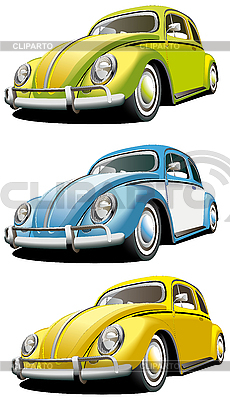 Старомодные автомобили | Векторный клипарт |ID 3014950