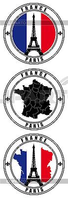 프랑스어 스탬프 | 벡터 클립 아트 |ID 3015057