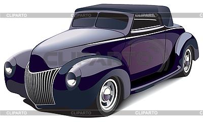 Schwarzes Auto | Stock Vektorgrafik |ID 3026720