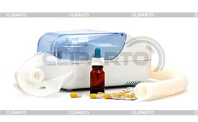 Ultraschall-Vernebler und Medikamente | Foto mit hoher Auflösung |ID 3013824