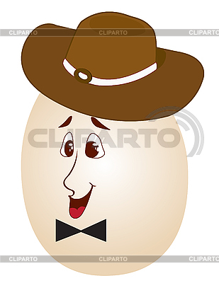 Пасхальное яйцо в шляпе | Фото большого размера |ID 3014139