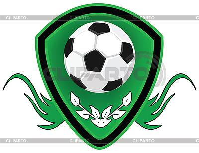 Fußball-Emblem | Illustration mit hoher Auflösung |ID 3014281