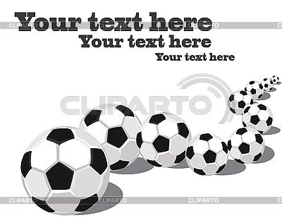 Piłki z rzędu | Stockowa ilustracja wysokiej rozdzielczości |ID 3014283