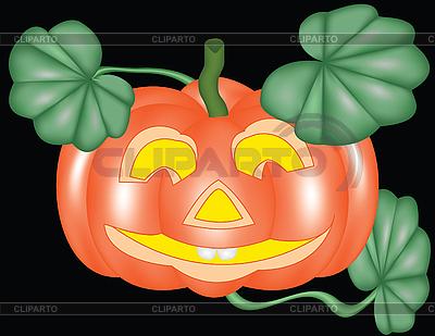 Тыква для Хэллоуина | Векторный клипарт |ID 3014444
