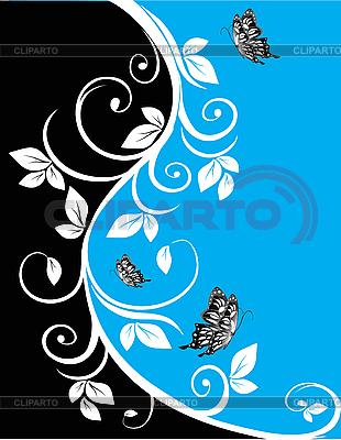 Kwiatów w tle | Klipart wektorowy |ID 3014466
