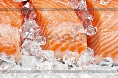 Filet z łososia | Foto stockowe wysokiej rozdzielczości |ID 3014542
