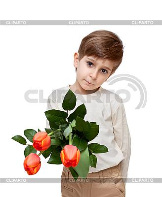 튤립의 꽃다발 소년 | 높은 해상도 사진 |ID 3014600