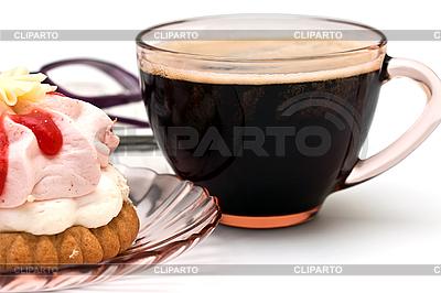Tasse Kaffee und Kuchen | Foto mit hoher Auflösung |ID 3014624
