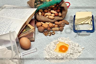 Pieczenie świeże ciasta | Foto stockowe wysokiej rozdzielczości |ID 3014651