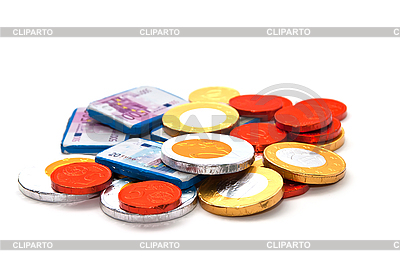 Pieniądze Chocolate | Foto stockowe wysokiej rozdzielczości |ID 3018938