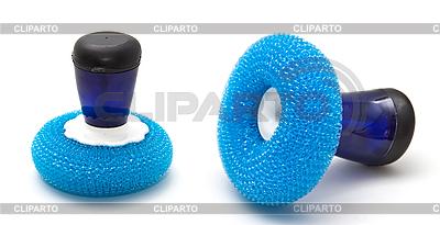 Gąbka do mycia naczyń | Foto stockowe wysokiej rozdzielczości |ID 3019022