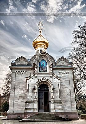 Russisch-Orthodoxe Kirche. Baden-Baden. | Foto mit hoher Auflösung |ID 3019246