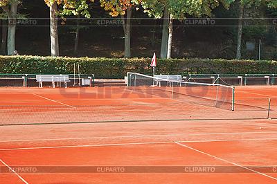 Kort tenisowy | Foto stockowe wysokiej rozdzielczości |ID 3074424