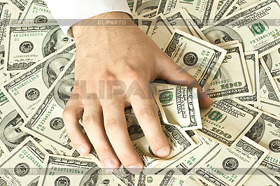 Greedy ręka chwyta pieniądze | Foto stockowe wysokiej rozdzielczości |ID 3015351