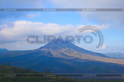 Volcano Kintamani und See Batur auf Bali Insel | Foto mit hoher Auflösung |ID 3015393