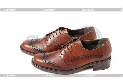 Braune Schuhe   Foto mit hoher Auflösung  ID 3015493