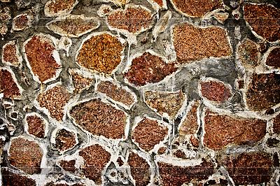 Tekstura kamiennym starożytnych ruin Majów | Foto stockowe wysokiej rozdzielczości |ID 3015651