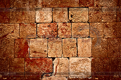 마야 유적의 돌담 | 높은 해상도 사진 |ID 3015723