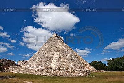 Piramidy Majów w Uxmal, Meksyk | Foto stockowe wysokiej rozdzielczości |ID 3015725